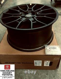 New Oem Toyota Avalon & Camry 19'' Trd Matte Black Alloy Wheels 4-piece Set