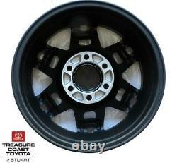 New Oem Toyota Black Trd Aluminum 17 Inch Wheels 4 Piece Set