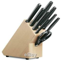 New Victorinox 9 Piece 9pc Knife Cutlery Block Set SWISS MADE Save
