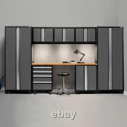 NewAge Products Bold 3.0 Series Storage Cabinet 8-piece Set, Gray