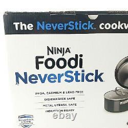 Ninja Foodi NeverStick 11 Piece Cookware Set, Guaranteed To Never Stick, C19600