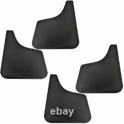 OEM E7TZ16A550A Flat Mud Flap Splash Guard Black Kit Set of 4 for Ford Truck Van
