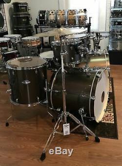 Pearl Export Drum Set 7 Piece Double Bass 2018 Bronze w. Zildjian Cymbals