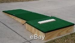Portable Pitching Mound 6 for 12U Two Piece, Sets up in Seconds