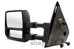 Power Heated Tow LED Signal Side Mirror Pair for 2007-2010 2011 2012 Ford F-150