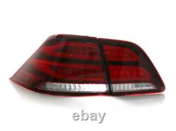 Real GLE Look Rear 4 Pieces LED Tail Lights For 2012-15 Mercedes W166 ML Class