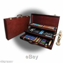 Royal & Langnickel Sketching Drawing Deluxe Art Set 134 Piece Premier Art Kit