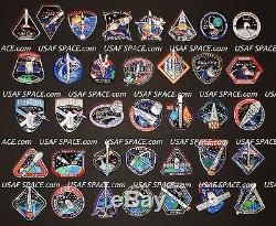 SPACEX ORIGINAL Complete 78 Mission PATCH SET FALCON-9 DRAGON NASA CRS SpX DM-1