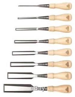 STANLEY 16-793 8 Piece Sweetheart Socket Chisel Set with Pouch