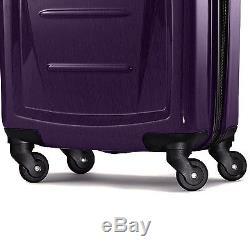 Samsonite Winfield 2 Fashion Hardside 3 Piece Spinner Set Purple (56847-1717)