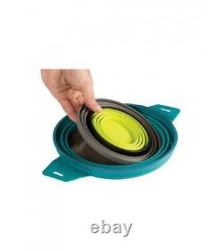 Sea To Summit X Set 31 Collapsible Compact Cooking System Camping Pots 5-piece