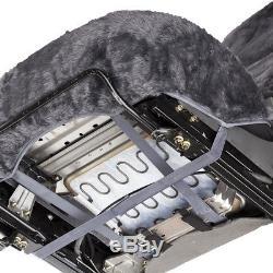 Sheepskin Car Seat Covers 2 Piece Set Real Australian Soft Cushion Leather Hive