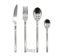 Stainless Steel Cutlery Sets Spoon Fork 16/ 24/ 32 piece Set Forged Steel Handle