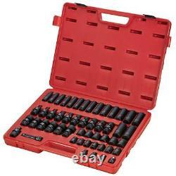 Sunex Tools 3351 3/8 Drive 51 Piece Metric Imp Socket Set