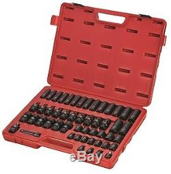 Sunex Tools 3351 51 Piece 3/8 Drive Metric Master Impact Socket Set