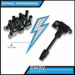 TRQ Ignition Coils Kit Set of 8 for Chrysler Dodge Jeep Ram Truck 5.7L 6.1L Hemi