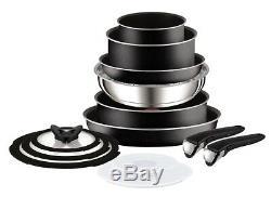 Tefal Ingenio Essential Non-stick Saucepan Set 13 Pieces L2009142