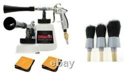 Tornador Black Car Cleaning Gun Z-020 free 3 piece detail brush set & towels