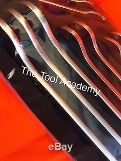 Ultra Thin Spanner Set Tool Control Foam Tray 10 Piece 6mm 24mm Open Ended