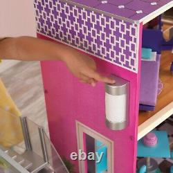 Uptown Dollhouse with 36-Piece Accessory Set by KidKraft