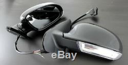 VW Golf MK4 4 Bora MK5 5 Design Sport LED Wing Mirrors Indicator Repeater USA