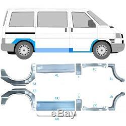 Vw Transporter T4 Swb/mwb 90-03 Repair Panel Doorstep Sill Wing Set Of 11 Pieces