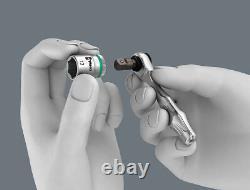 Wera 135918 Kraftform Kompakt 27 Piece Zyklop Mini 2 Ratchet, Socket & Bit Set