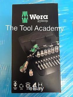 Wera Tools Zyklop Speed Socket Ratchet Metric Toolkit Set 1/4 Dr 8100 28 Piece