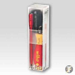 Wiha 38074 Slim Torque 5 Piece VDE Electricians Screwdriver Set PLUS Voltstick