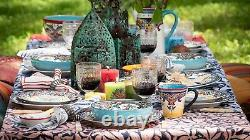 Zanzibar 20 Piece Stoneware Dinnerware Set by Euro Ceramica